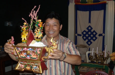 Mr. Tsetan Chanjore - Director of the UVA Summer Tibetan Language Program