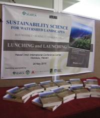 sustainability science for watershed landscapes book lauch