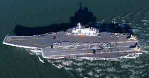 China's Liaoning carrier, purchased from Ukraine