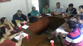 EWCA Bangladesh Chapter Alumni Meeting with Teachers at the OPS