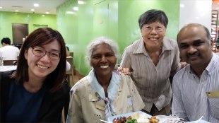Welcoming Alumnus Pushpa from Penang