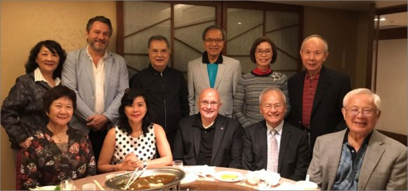 President and Mrs. Richard R. Vuylsteke with the EWCA Taiwan Chapter members
