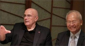 President. Richard Vuylsteke and Frank Hung, EWCA Taiwan-Chapter president.
