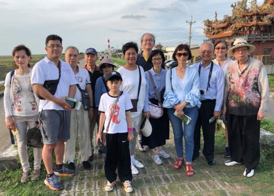 EWCA Taiwan Chapter members visited the Gaomei Wetland Habitat in central Taiwan on July 6, 2018.