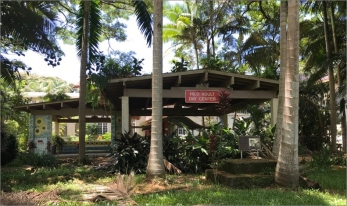 The Hilo Adult Center which doubled as housing and training center for Peace Corps volunteers before their departure to service in the Pacific and Southeast Asia.